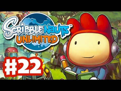 Scribblenauts Unlimited - Gameplay Walkthrough Part 22 - Abian Sea Front (PC, Wii U, 3DS)