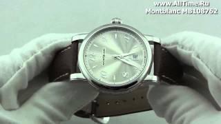 Обзор. Мужские наручные часы Montblanc MB108762