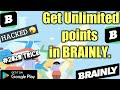 Get Unlimited Points In BRAINLY || BRAINLY HACKED || Get more points in brainly || 2020 trick👍👍