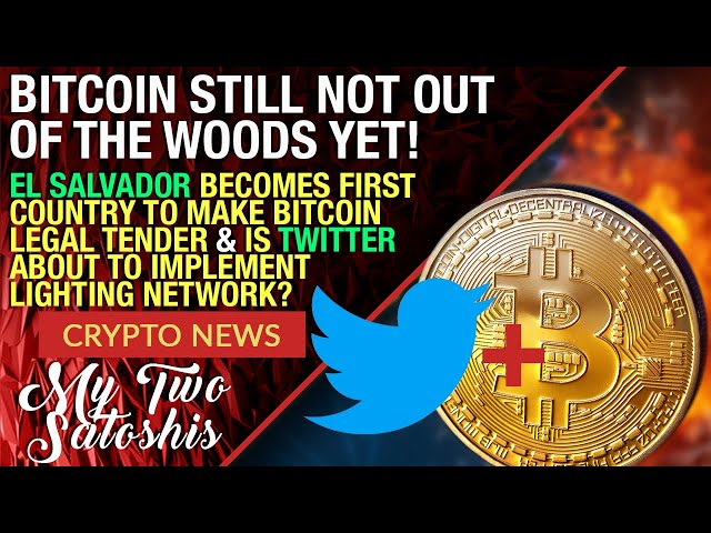 BITCOIN STILL NOT OUT OF THE WOODS | IMF Not Happy w/ El Salvador Making Bitcoin Legal Tender!