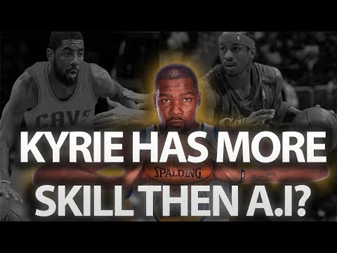 Kevin Durant Says Kyrie Irving Has Better Skills Then Allen Iverson, Taliaferro Reacts