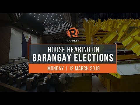 Download Youtube: LIVE: House hearing on postponement of barangay elections