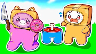 Can LANKYBOX FOXY \u0026 BOXY Beat AMONG US?! (CRAZY ENDING!)
