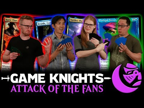 attack-of-the-fans!-l-game-knights-#35-l-magic:-the-gathering-commander-/-edh-gameplay