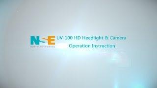 UV 100 HD Headlight & Camera Operation Instruction(EN)