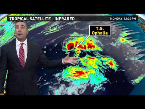 Tropics Outlook for Monday, October 9 2017