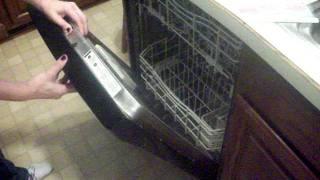 Kenmore Elite Dishwasher Repair    Thermal Cutoff Replacement part 1