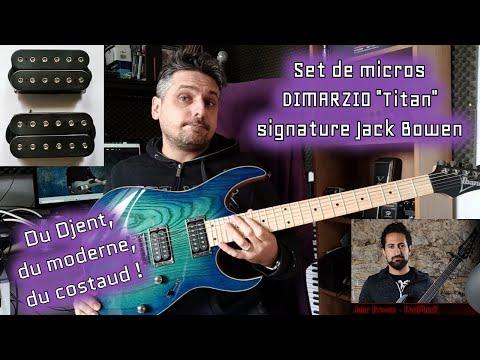 TEST : micros DIMARZIO Titan signature Jack Bowen ( PERIPHERY)