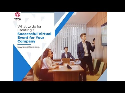 What To Do For Creating A Successful Virtual Event For Your Company?