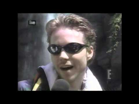 Jonathan Brandis & Tatyana Ali  at Jurassic Park the Ride