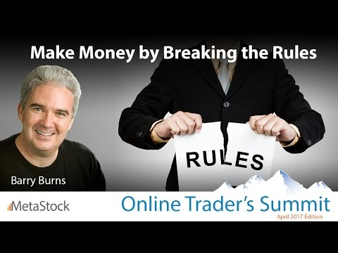 Make Money by Breaking Every Trading Rule You Ever Learned!