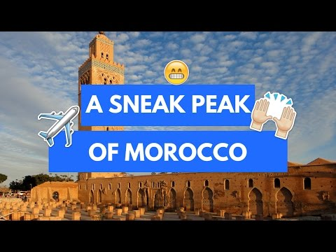 Walk with us through Rabat and Marrakech, Morocco!