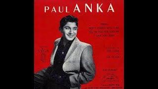 Paul Anka   I love you, baby    1957
