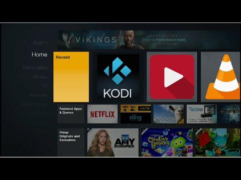 Add Kodi To Amazon Fire TV Home Screen