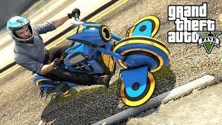 NAJLEPSZY I NAJDROŻSZY MOTOCYKL W GRZE! GTA Online - Arena Wars - CUSTOM GARGOYLE