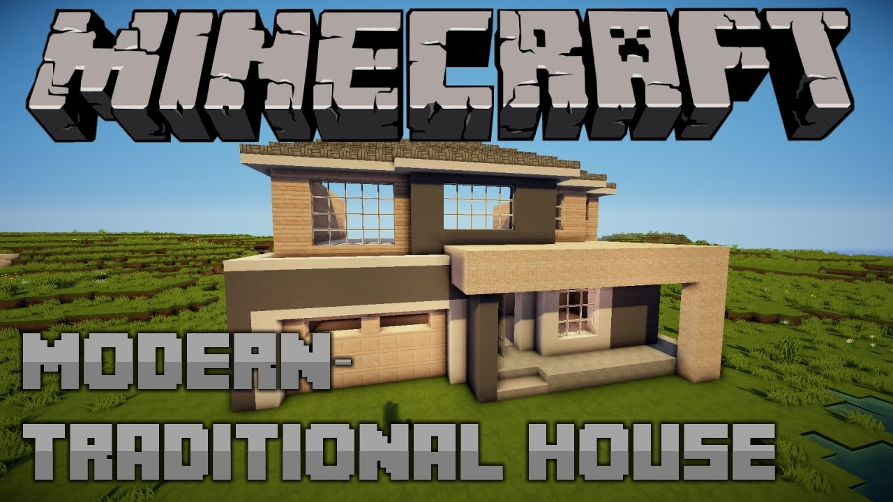 Modern-Traditional House | Minecraft Let's Build | E05 ... - photo#15
