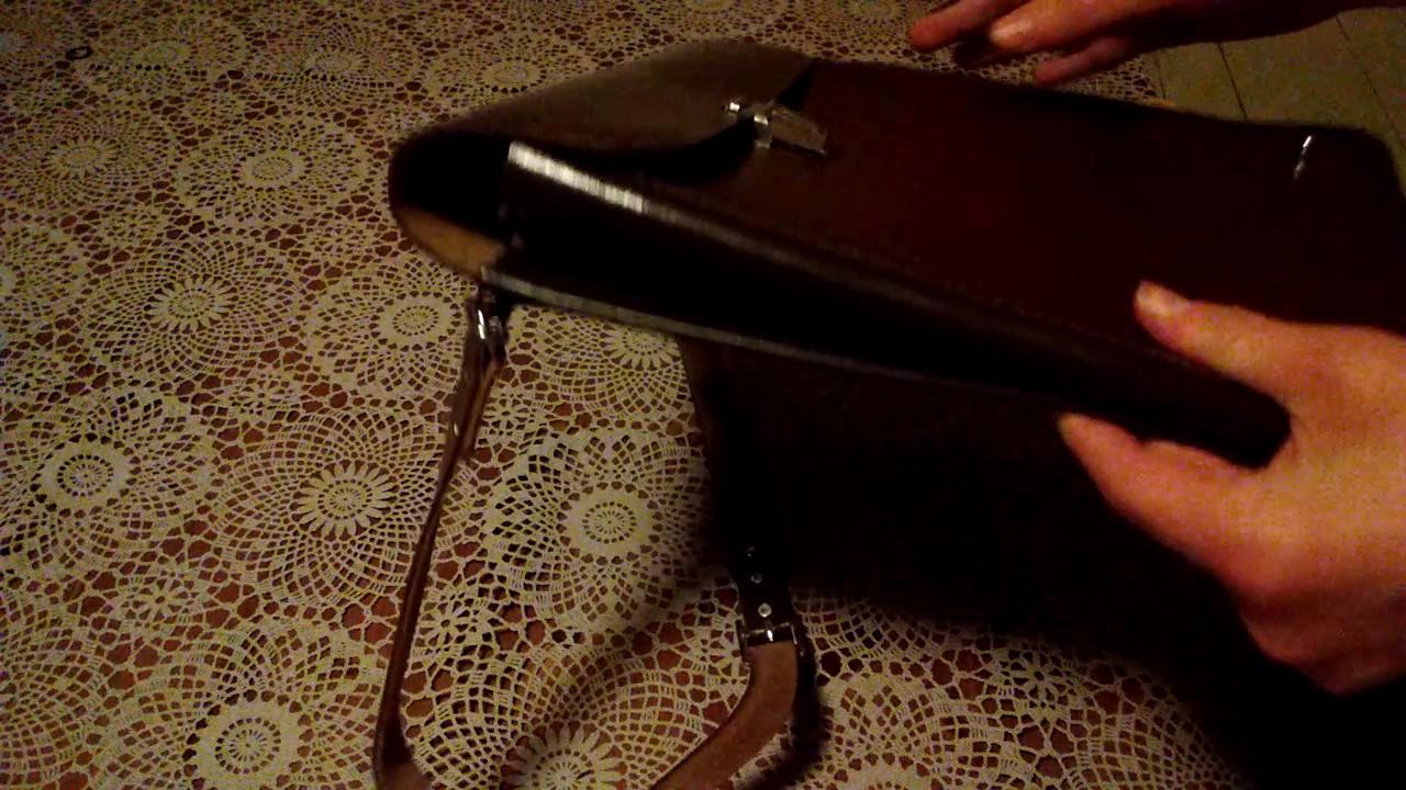 Планшет мужской Ashwood Leather Kingston 8341 Black - YouTube
