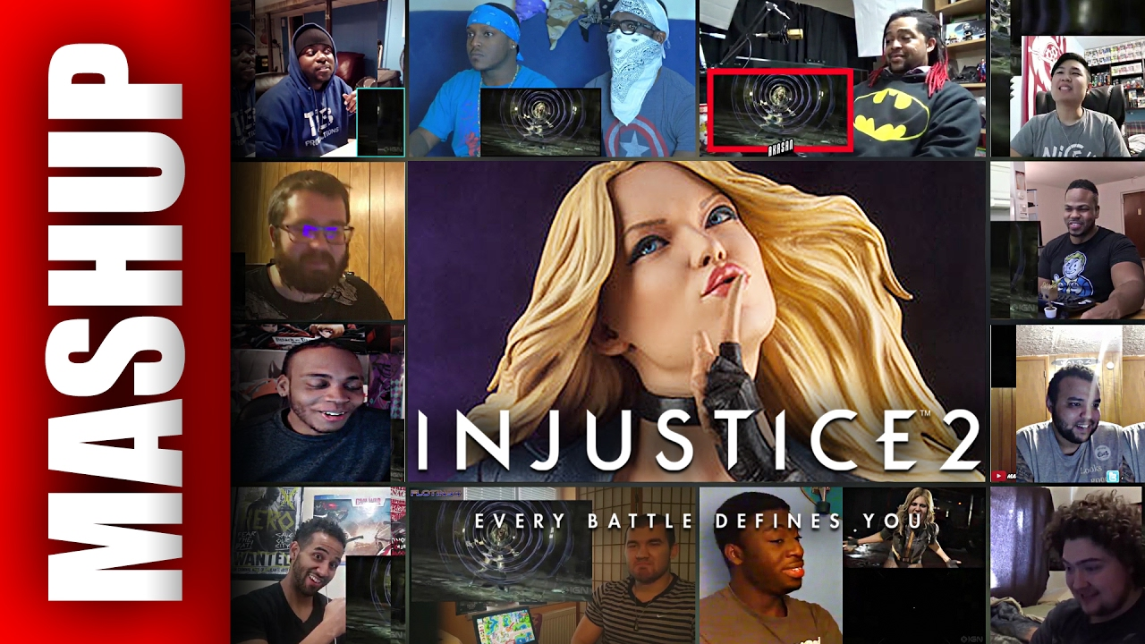 New Character Injustice 2 Black Canary Gameplay Trailer Reactions Mashup