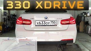 BMW 330 xDrive F30 ЗАМЕР НА СТЕНДЕ. 0-100. Готовимся чиповать. Dyno