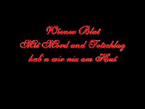 Lyrics: Wiener Blut - Falco