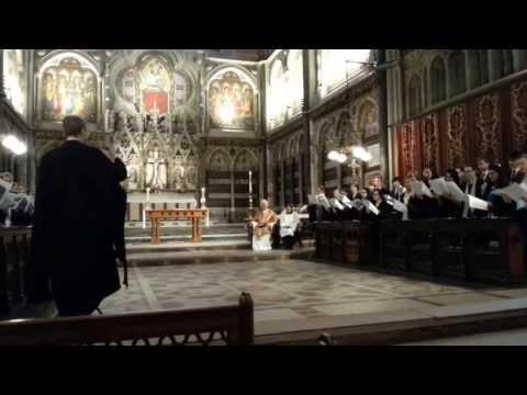 Oriel College choir at Keble College chapel, Oxford (2/2)