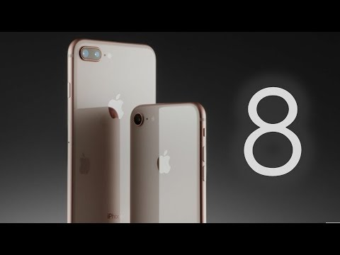 Apple iPhone 8 & 8 Plus:  First Look! (2017)