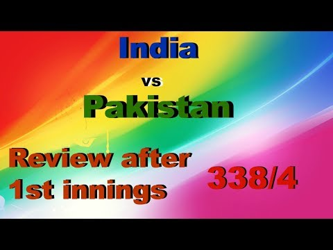 India vs Pakistan 1st innings review | Final of Champions Trophy 2017