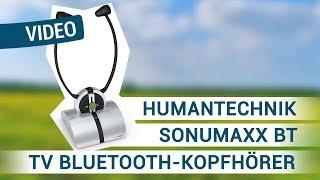 Produktvideo zu Bluetooth-Kopfhörer Humantechnik sonumaxxBT