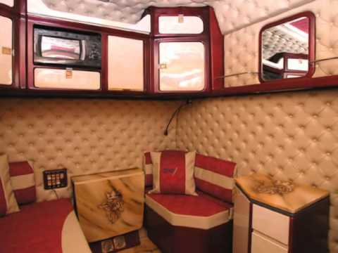 Scania longline interior images for Interieur scania longline