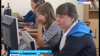 Ремонт в средней школе села Гордино (ГТРК Вятка)