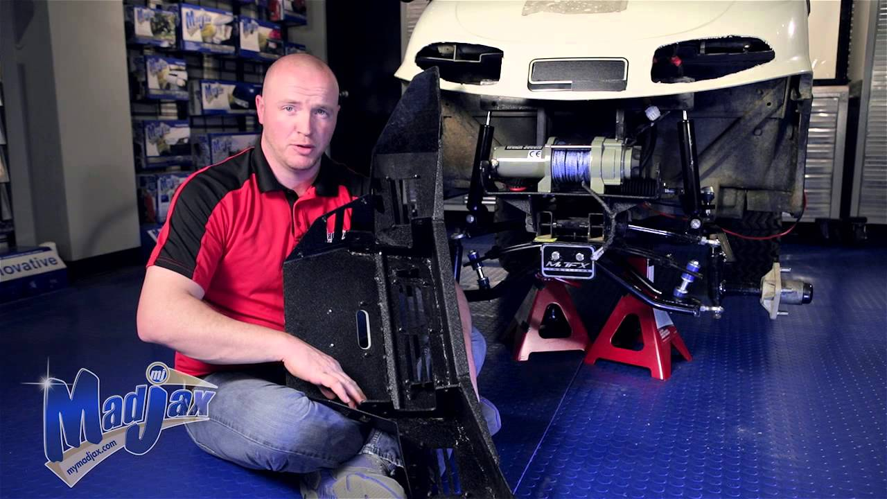 Armor Bumper will fit *E-Z-GO® *RXV® | How to Install ...