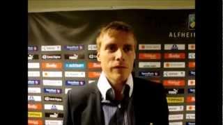 ISBERGET-TV: Reaksjoner etter TIL-Partizan 3-2.wmv