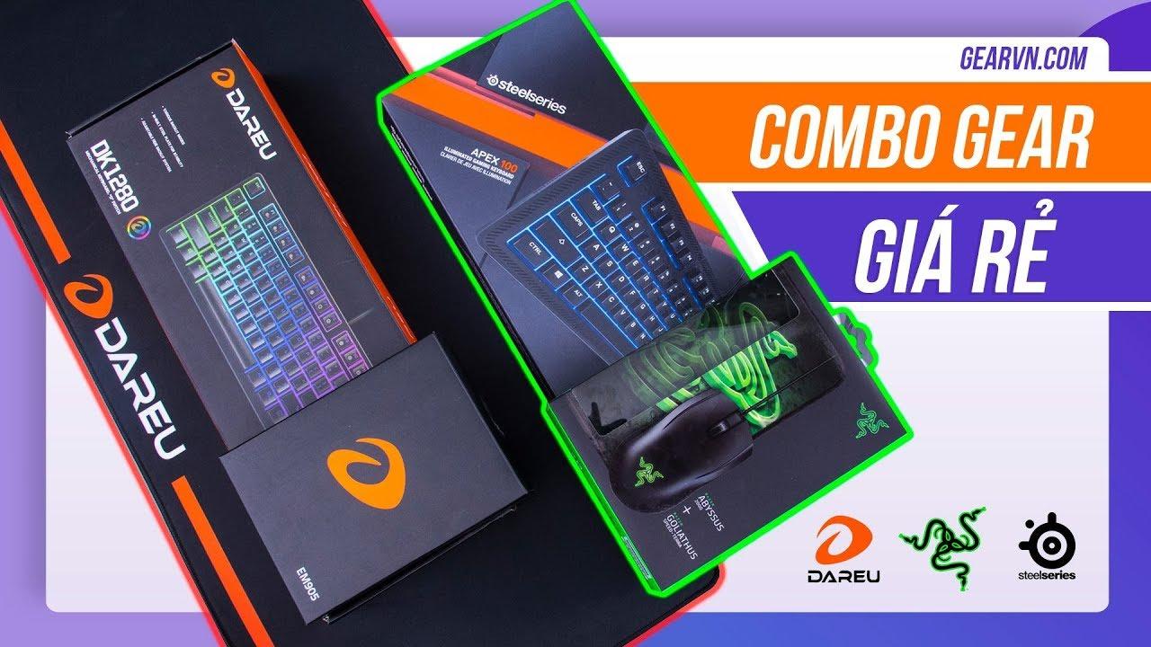 Hướng dẫn chọn combo Gear chơi game giá rẻ cho học sinh sinh viên | GEARVN