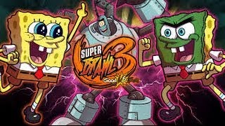 Super Brawl 3 Good vs. Evil (B.O.B., Sqweep, & Ninja Turtles) - Full Game 2014