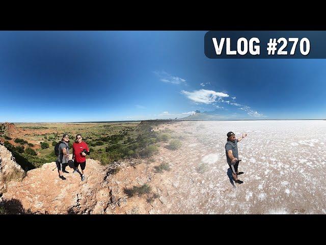 VLOG #270 / Gloss Mountain/Great Salt Plains (OKLAHOMA) / June 24, 2020
