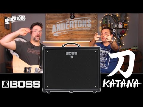 Boss Katana Amp Review with Chappers & the Capt!