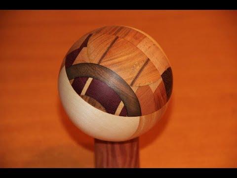Cómo hacer esferas de Madera