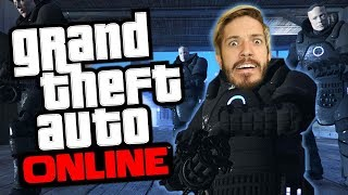 Fighting Invisible Baddies! | GTA Online: The Doomsday Heist