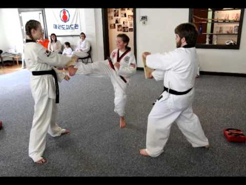 Aubrey's Black Belt Test