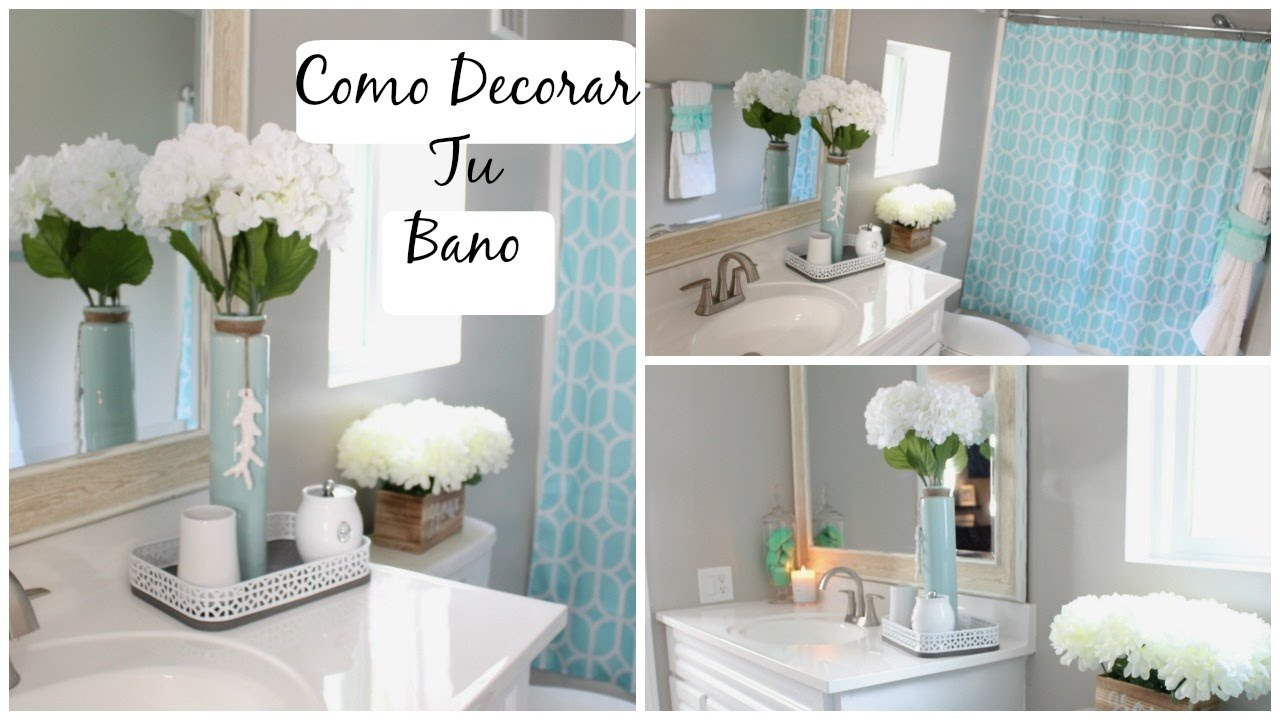 Ideas para decorar tu ba o elegante y con poco dinero youtube - Ideas para decorar banos ...