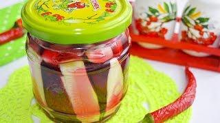 Салат из кабачков и свеклы на зиму