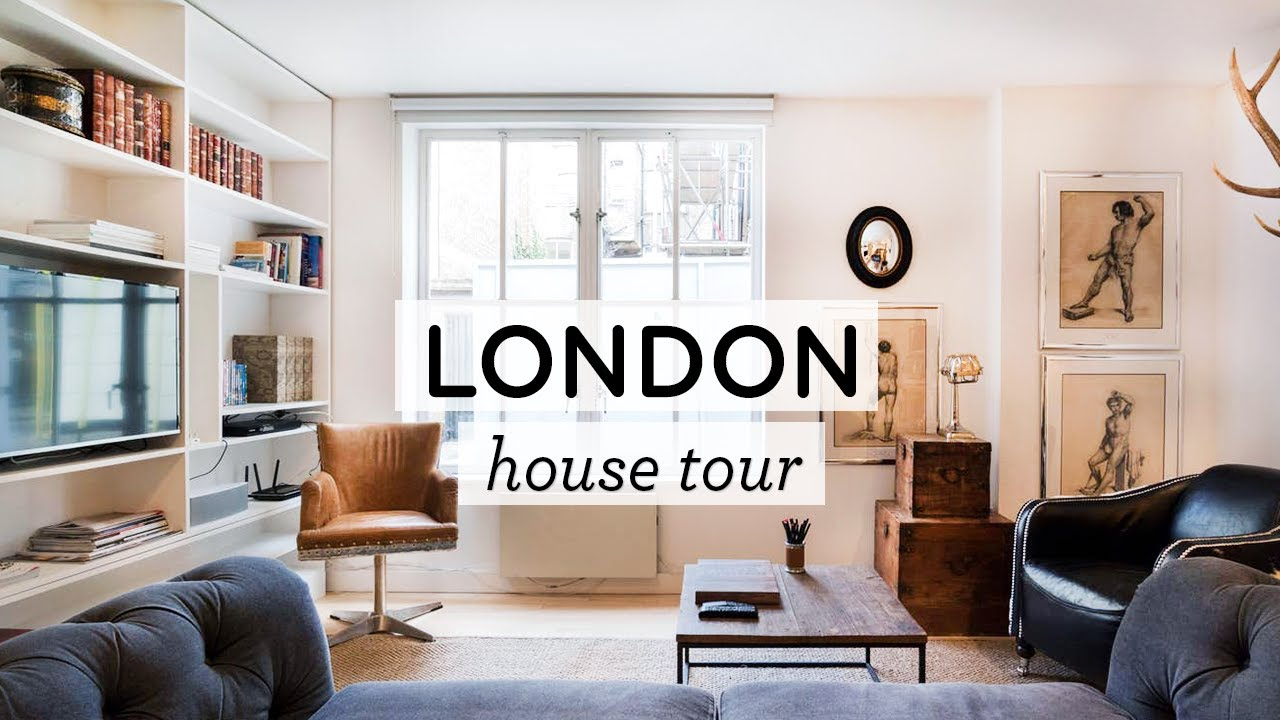OUR LONDON HOUSE TOUR ‣‣ 2-Story Flat in Fitzrovia London