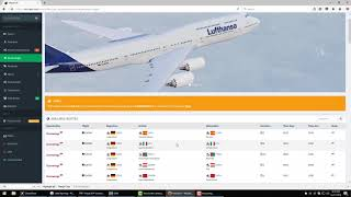 [Tutorial 1.1]  Virtual LH | Booking a Flight & using SimACARS