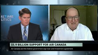 $5.9 billion dollars federal support for Air Canada