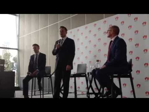 Elon Musk South Australia press meeting full