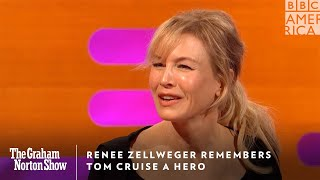 Renee Zellweger Remembers Tom Cruise A Hero | The Graham Norton Show | Friday at 11pm | BBC America