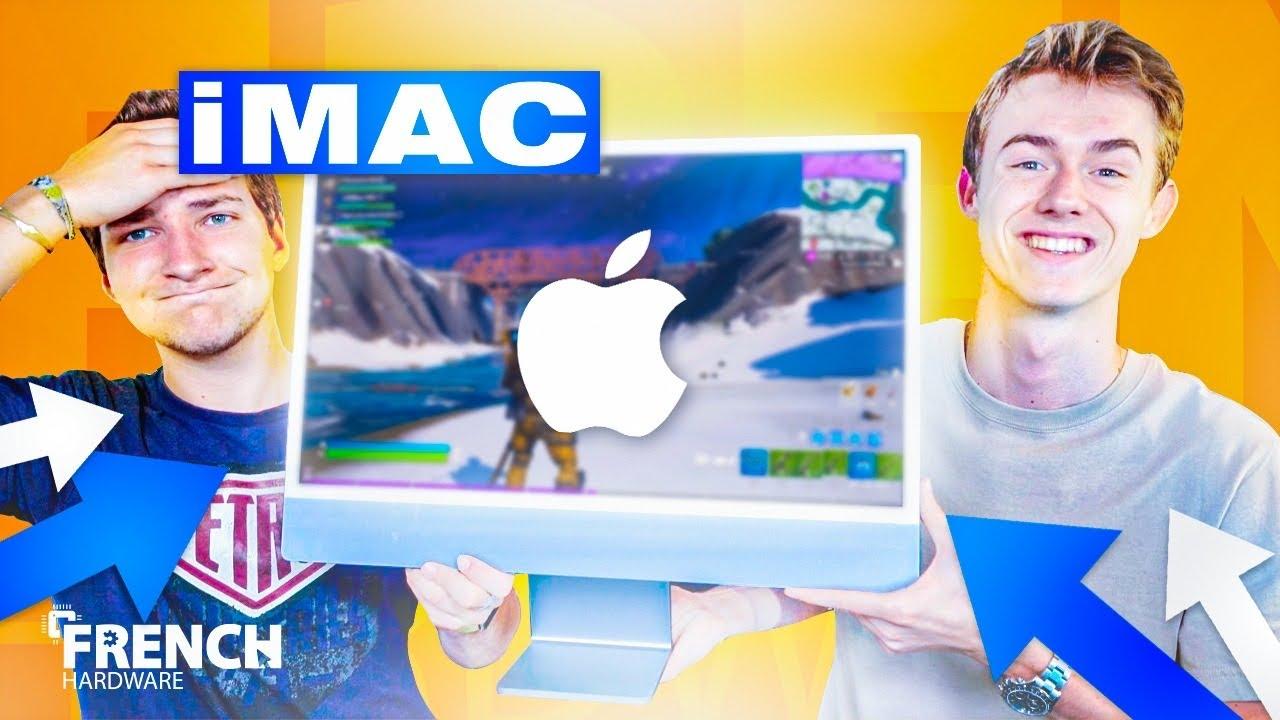 PEUT-ON JOUER AVEC UN iMac M1 2021 ? (on vous a trahi...)