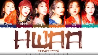 Download (G)I-DLE - 'HWAA' (화(火花)) Lyrics [Color Coded_Han_Rom_Eng]