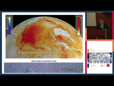 Arctic Amplification : Prof Peter Wadhams