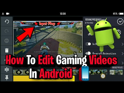 How To Edit Gaming Videos In Android 2019 in hindi like a pro for Youtube